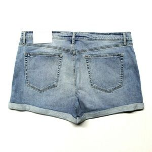 Loft Denim Roll Shorts (496999) Mid Indigo Wash